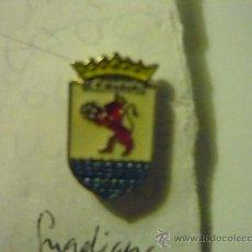 Coleccionismo deportivo: PIN FUTBOL GUADIANA CD. Lote 36490372