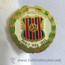 Coleccionismo deportivo: MUY BUENO E INTERESANTE PIN INSIGNIA DE LA PENYA BARCELINISTA POBLE NOU 1968. Lote 36845984