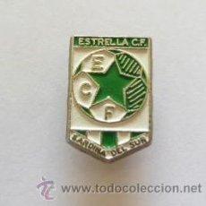 Coleccionismo deportivo: INSIGNIA DE ESTRELLA CLUB DE FUTBOL - SARDINA DL SUR. Lote 36858132