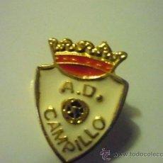 Coleccionismo deportivo: PIN FUTBOL CAMPILLO AD. Lote 37236579