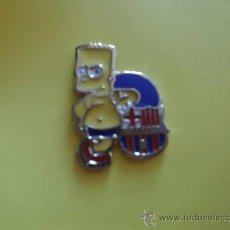 Coleccionismo deportivo: PIN F C BARCELONA BARÇA BART SIMPSON LOS SIMPSONS. Lote 38360871