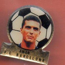Coleccionismo deportivo: PINS FUTBOL CLUB BARCELONA AMOR. Lote 38408220