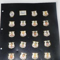 Coleccionismo deportivo: 24 PINS DEL BARCELONA CAMPEONES DE EUROPA.. Lote 38443337