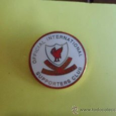 Coleccionismo deportivo: PIN LIVERPOOL OFICIAL INTERNATIONAL SUPPORTERS CLUB. Lote 38460845