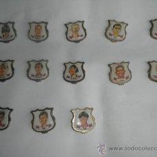 Coleccionismo deportivo: COLECCION DE 13 PIN PINS DEL BARCELONA. Lote 38512628