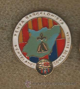 PIN PEÑA BARCELONISTA MONTBLANC I COMARCA DE CONCA DE BARBERA DE MONTBLANC (TARRAGONA) (Coleccionismo Deportivo - Pins de Deportes - Fútbol)