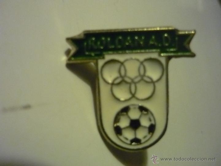 PIN FUTBOL AD ROLDAN (Coleccionismo Deportivo - Pins de Deportes - Fútbol)