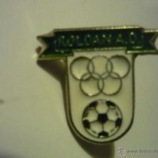 Coleccionismo deportivo: PIN FUTBOL AD ROLDAN. Lote 40900485