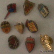 Coleccionismo deportivo: LOTE 9 PINS EQUIPOS DE FÚTBOL ESPAÑOLES. Lote 41297234