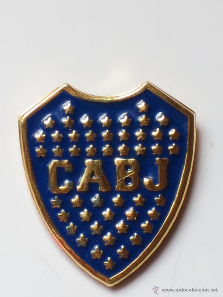 new style 3e38c c6711 Boca Juniors Pin Badge Crest Supporters Gear