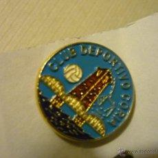 Coleccionismo deportivo: PIN FUTBOL CD CORIA. Lote 42135066