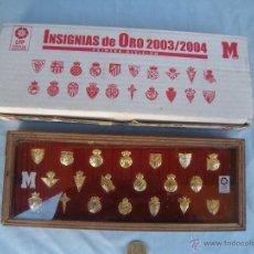 Coleccionismo deportivo: COLECCIÓN INSIGNIAS PINS DE FUTBOL. Lote 256099465
