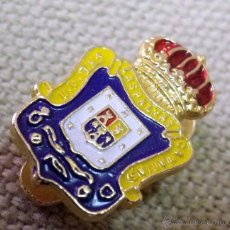Coleccionismo deportivo: ANTIGUO PIN DE SOLAPA, FUTBOL, LAS PALMAS, 1960S. Lote 43286277