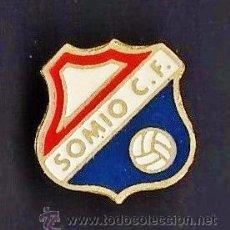 Collectionnisme sportif: PIN - FUTBOL - SOMIO C.F. - GIJON / ASTURIAS - METAL ESMALTADO - CALIDAD - EP 1/3. Lote 43590330