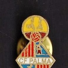 Collezionismo sportivo: PIN - FUTBOL - C.F. PALMA - MALLORCA / BALEARES - METAL ESMALTADO - CALIDAD - EP 1/4. Lote 43597431