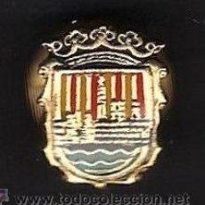 Coleccionismo deportivo: PIN - FUTBOL - AT. CIUDADELA - MENORCA - BALEARES - METAL LACADO - EP 1/4. Lote 43597576