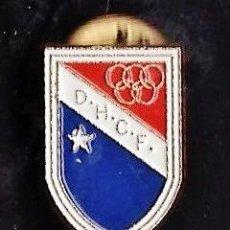 Coleccionismo deportivo: PIN - FUTBOL - DOS HERMANAS C.F. - SEVILLA - METAL ESMALTADO - CALIDAD - EP 1. Lote 43599194