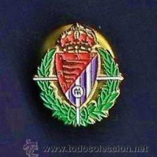 Coleccionismo deportivo: PIN - FUTBOL - REAL VALLADOLID - METAL ESMALTADO - CALIDAD - MINI 1 CM. - EP 2/3. Lote 43777328