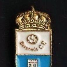 Coleccionismo deportivo: PIN - FUTBOL - BERGONDO C.E. - A CORUÑA - METAL ESMALTADO - EP 3/2. Lote 43811896