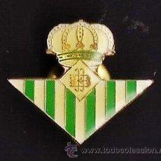 Coleccionismo deportivo: PIN - FUTBOL - REAL BETIS BALONPIE - SEVILLA - METAL LACADO - EP 1. Lote 43819135