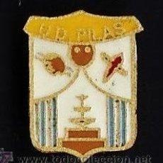 Coleccionismo deportivo: PIN - FUTBOL - U.D. PILAS - SEVILLA - METAL ESMALTADO - CALIDAD - EP 1. Lote 43821699