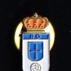 Coleccionismo deportivo: PIN - FUTBOL - REAL OVIEDO - ASTURIAS - METAL ESMALTADO - MINI 1'2 CM. - CALIDAD - EP 1/3. Lote 43822496