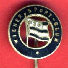 Coleccionismo deportivo: PIN FUTBOL , WIENER SPORT CLUB VIENA AUSTRIA , ANTIGUO ESMALTE , ORIGINAL , AGUJA , F2. Lote 44174777