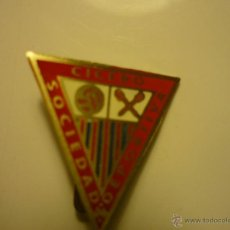 Coleccionismo deportivo: PIN SDAD-DEPORTIVA CICERO .--AGUJA. Lote 44291881