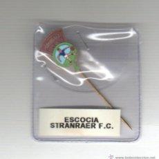 Coleccionismo deportivo: PIN INSIGNIA AGUJA LARGA - FUTBOL - STRANRAER F.C. - ESCOCIA. Lote 44376782