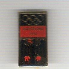 Coleccionismo deportivo: PIN INSIGNIA AGUJA LARGA - FUTBOL -DEL COMITE OLIMPICO DE ALEMANIA DE LAS OLIMPIAS BARCELONA 92. Lote 44376818
