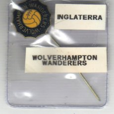 Coleccionismo deportivo: PIN INSIGNIA AGUJA LARGA - FUTBOL - INGLATERRA WOLVERHAMTON WANDERES. Lote 44376859