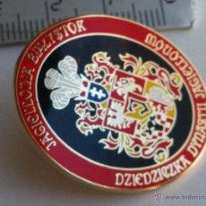 Coleccionismo deportivo: PIN EQUIPO DE FUTBOL EUROPEO INTERNACIONAL POLACO CLUB JAGIELLONIA BIALYSTOK LIGA POLONIA. Lote 46292278