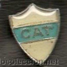 Coleccionismo deportivo: ARGENTINA. INSIGNIA DEL CLUB ATLÉTICO TALLERES DE DOLORES. Lote 46436407