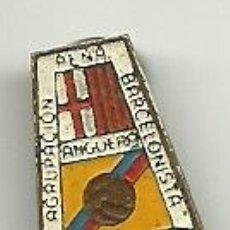 Coleccionismo deportivo: (P-144)PIN AGRUPACION PEÑA BARCELONISTA ANGUERA. Lote 47028246