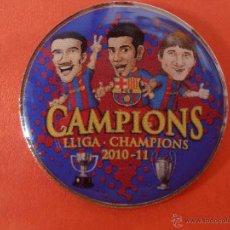 Coleccionismo deportivo: PIN'S DE LA CHAMPION'S DEL 2.010-2.011. Lote 47459988