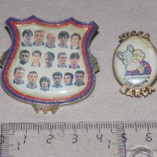 Coleccionismo deportivo: LOTE PINS BARÇA DREAM TEAM FUTBOL CLUB BARCELONA FCB. Lote 47884912
