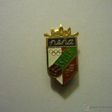 Coleccionismo deportivo: PIN FUTBOL PEÑA OSCAR - BOTON. Lote 49019890