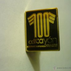 Coleccionismo deportivo: PIN FUTBOL FED,CANTABRA CENTENARIO CD CAYON. Lote 49592421