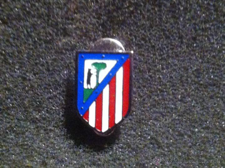cb9a5e20f604e PIN ESCUDO EQUIPO FUTBOL ATLETICO DE MADRID (DE OJAL O SOLAPA CALIDAD  ESMALTE A FUEGO )