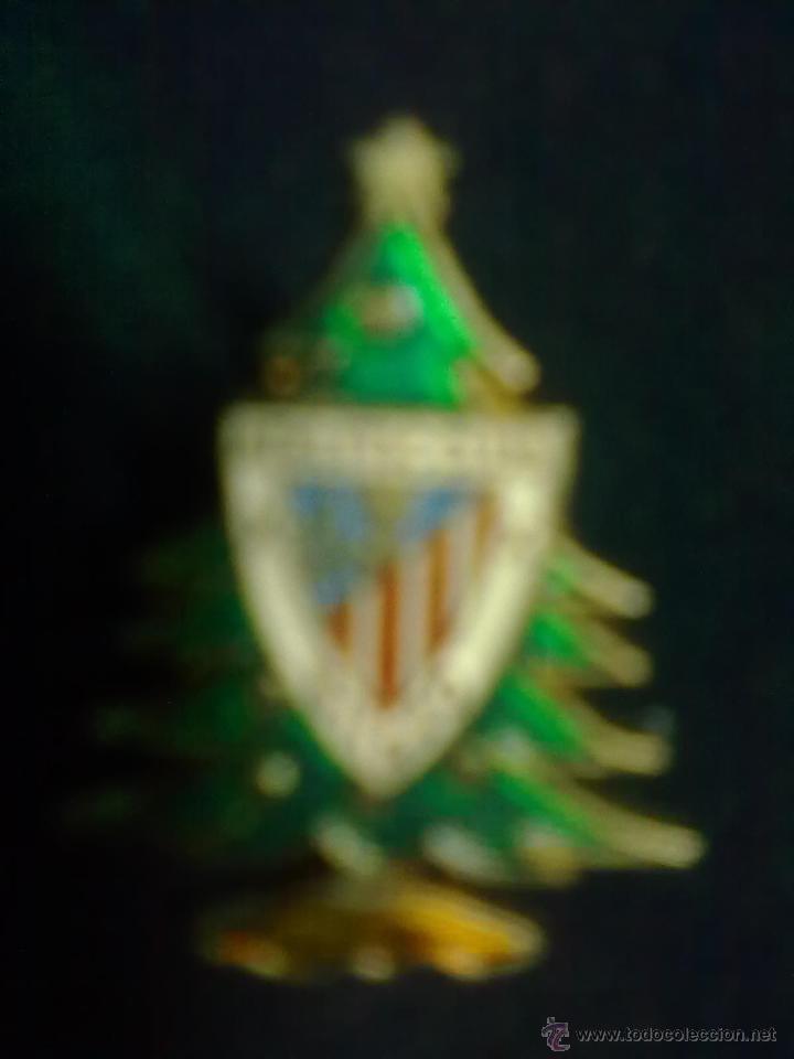 ABETO NAVIDEÑO PIN ATHLETIC BILBAO (Coleccionismo Deportivo - Pins de Deportes - Fútbol)