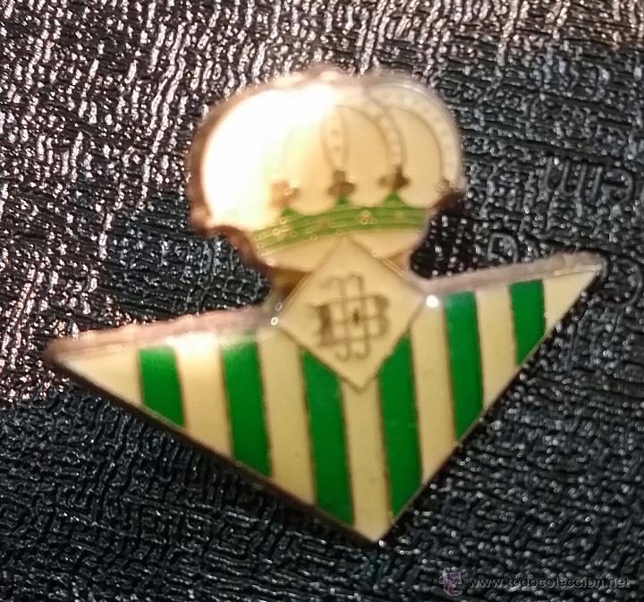 PIN FUTBOL REAL BETIS BALONPIE (Coleccionismo Deportivo - Pins de Deportes - Fútbol)