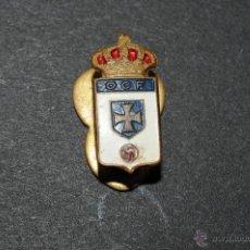 Coleccionismo deportivo: PIN O INSIGNIA DE OJAL O C F. Lote 50727289