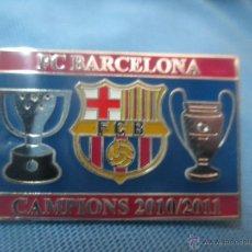 Coleccionismo deportivo: PIN BADGE CAMPIONS F C BARCELONA CAMPIO LIGA CHAMPIONS LEAGUE. Lote 51188069