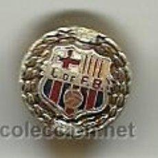 Coleccionismo deportivo: (P-298)INSIGNIA DE SOLAPA BODAS DE ORO C.F.BARCELONA,1899-1949. Lote 51476985