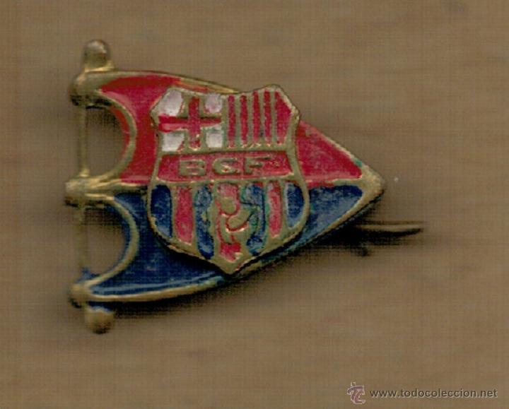 PIN INSIGNIA - F.C. BARCELONA - SIGLAS BCF - (Coleccionismo Deportivo - Pins de Deportes - Fútbol)