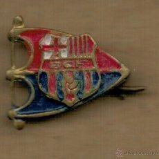 Coleccionismo deportivo: PIN INSIGNIA - F.C. BARCELONA - SIGLAS BCF -. Lote 52634287