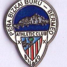 Coleccionismo deportivo: PEÑA BIZKAI BURU DEL ATHLETIC CLUB. Lote 147277977