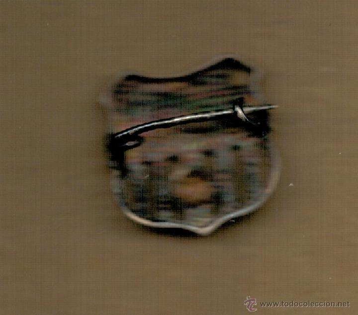 Coleccionismo deportivo: PIN INSIGNIA DE PLATA - F.C. BARCELONA - SIGLAS BCF - - Foto 2 - 52649977
