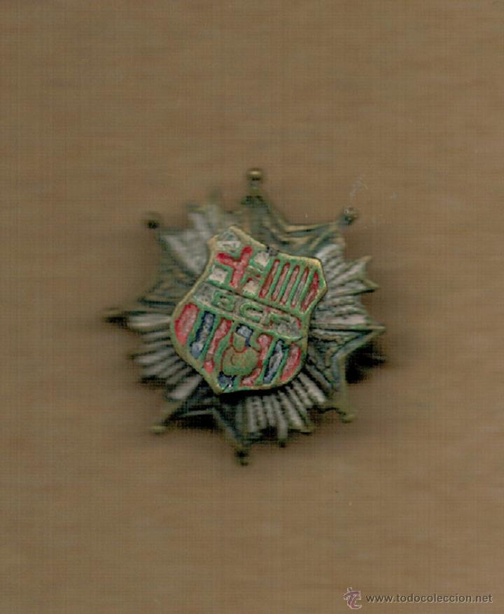 PIN INSIGNIA - F.C. BARCELONA - SIGLAS BCF (Coleccionismo Deportivo - Pins de Deportes - Fútbol)