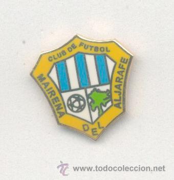 PIN DE FÚTBOL. ANDALUCÍA. MAIRENA DEL ALJARAFE CF (MAIRENA DEL ALJARAFE, SEVILLA). ESMALTADO OFICIAL (Coleccionismo Deportivo - Pins de Deportes - Fútbol)
